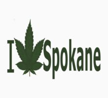 0251 I Love Spokane by Ganjastan