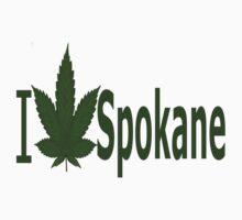 0251 I Love Spokane by Ganjastan