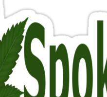 0251 I Love Spokane Sticker