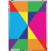 Multicoloured Triangles iPad case iPad Case/Skin
