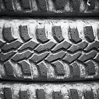 4x4 jeep tires by Martyn Franklin