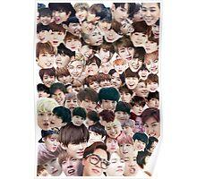 BTS/Bangtan Sonyeondan - Faces Poster