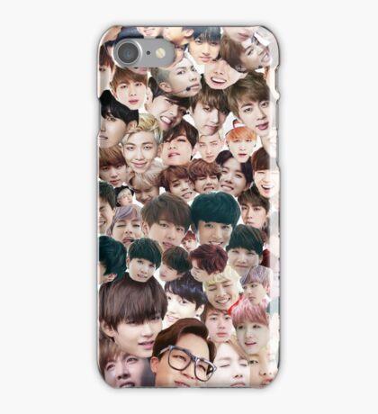 BTS/Bangtan Sonyeondan - Faces iPhone Case/Skin
