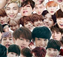 BTS/Bangtan Sonyeondan - Faces Sticker