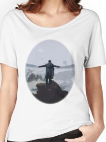 Sherlock above the Sea of Fog Women's Relaxed Fit T-Shirt