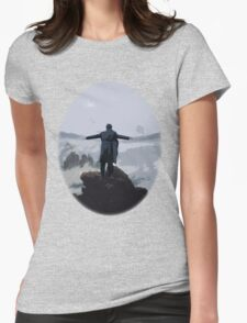Sherlock above the Sea of Fog Womens Fitted T-Shirt