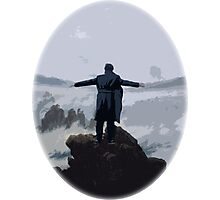 Sherlock above the Sea of Fog Photographic Print