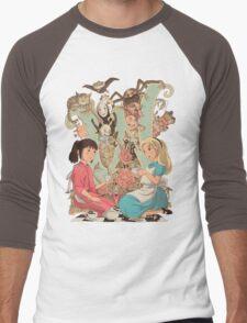 Wonderlands Men's Baseball ¾ T-Shirt