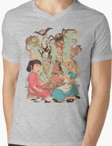 Wonderlands Mens V-Neck T-Shirt