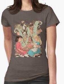 Wonderlands Womens Fitted T-Shirt