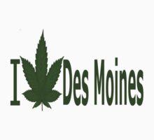 0252 I Love Des Moines by Ganjastan