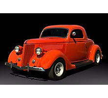 1936 Ford Coupe Hot Rod Photographic Print