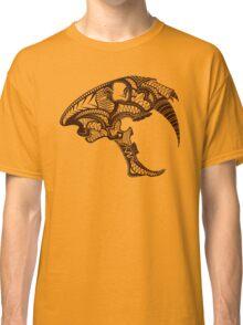 Sabre Tooth Tiger Skull Classic T-Shirt