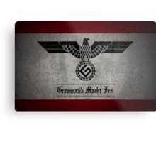 Grammar Nazi Metal Print