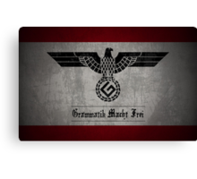 Grammar Nazi Canvas Print