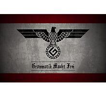Grammar Nazi Photographic Print