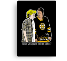 "Happy Gilmore - ""Where were you"" Canvas Print"