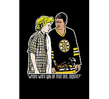 "Happy Gilmore - ""Where were you"" Photographic Print"