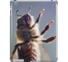 Honey bee up close and personal iPad Case/Skin