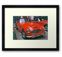 Austin-Healey Framed Print