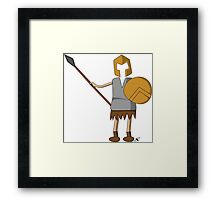 Sparta guy 2 Framed Print