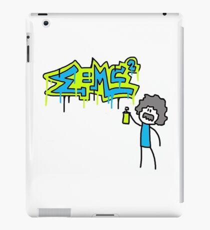 Albert Einstein Graffiti Doodle iPad Case/Skin