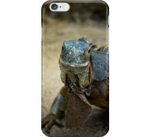 Handsome Iguana iPhone Case/Skin