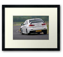 Mitsubishi Evo FQ360 Framed Print