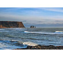 South coast of Iceland Photographic Print
