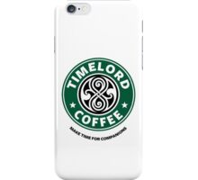 """Timelord Coffee"" Phone Case iPhone Case/Skin"