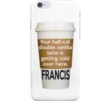 "Supernatural ""Francis"" Phone Case iPhone Case/Skin"