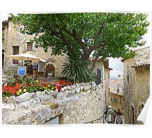 The Eagle's Nest In Eze Poster