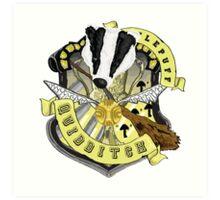 Hufflepuff Quidditch Pride Art Print