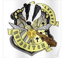 Hufflepuff Quidditch Pride Poster