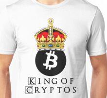 Bitcoin King Of Cryptos Unisex T-Shirt