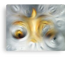 Fire And Ice - Energy Art By Sharon Cummings Canvas Print