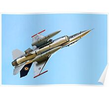 Luftforsvaret F-16AM Fighting Falcon 686 Poster