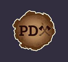 PD Axe on Wood Grain Unisex T-Shirt