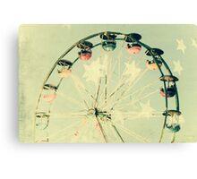 Whimsical Ferris Wheel Canvas Print