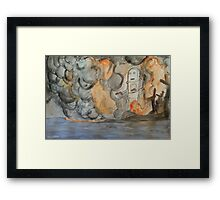 Destruction Robo Style Framed Print
