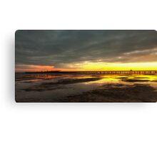 Dawn At Ryde Pier Canvas Print