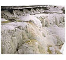 Frozen Rideau Falls #1 Poster