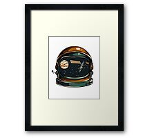 Spaced Out! Framed Print