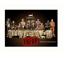 TOFOP- Last Supper Art Print