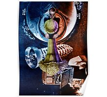 Passion Flower Seed ~ George Clooney in Space.  Poster