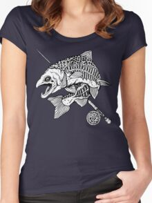 Zombie Trout Women's Fitted Scoop T-Shirt