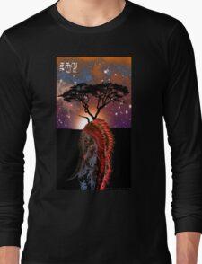 African Elephant Preistess Long Sleeve T-Shirt