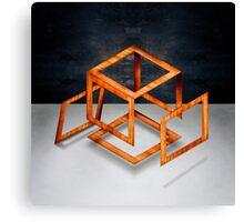 Cube Construct Canvas Print