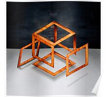 Cube Construct Poster