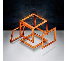 Cube Construct Photographic Print